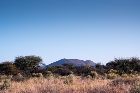 Landscape close to the Waterberg Plateau, Namibia.