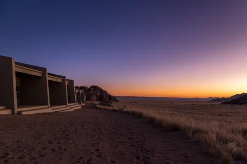 Sunset over Namib-Naukluft Lodge, Namibia