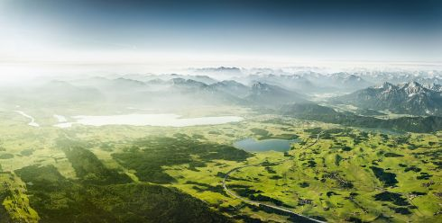 Johannes Heuckeroth - The Beauty of Bavaria - 2nd place - NATURE AERIAL - 3