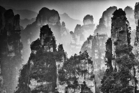 Yi Sun - Ink wash painting of Zhangjiajie - 1st place in FINE ART LANDSCAPE - 4