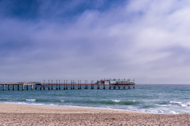 The jetty of Swakopmund, Namibia.