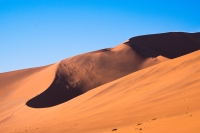 A dune of the Namib desert, Namibia.