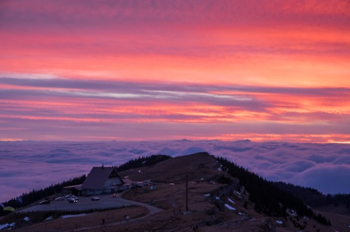 Sunset on Chasseral I