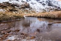 The Scottish highlands captured near Ben Vane, Loch Lomond.