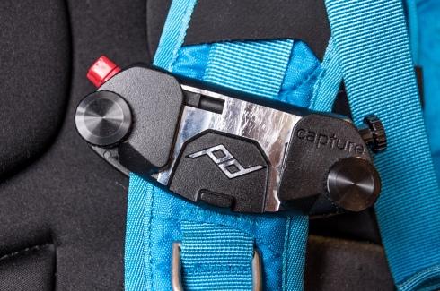 Capture Pro mounted to my backpack's strap